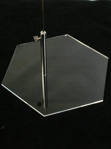画像: MSDサドルタイプアクリルベース(クリア)4ミリ対応型
